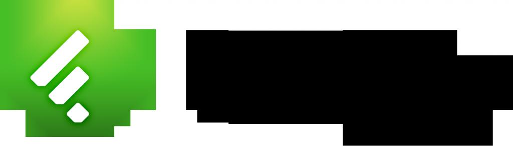 Feedly Logo - Black Color