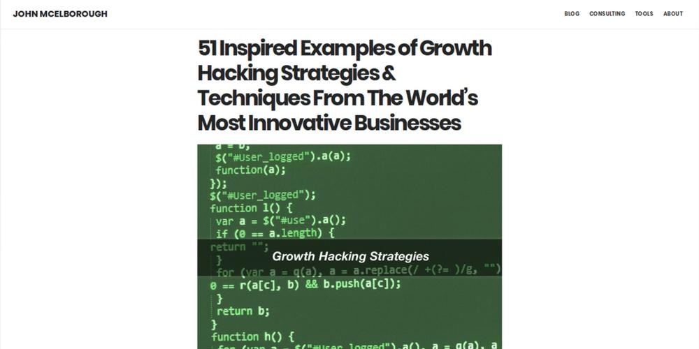 inspiracija za growth hack