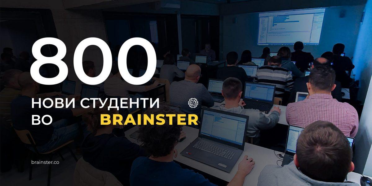 800 studenti Brainster